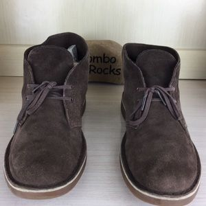 Clarks Brown Suede Leather Chukka Boots